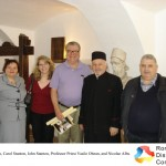 Tudorita Albu, Carol Stanton, John Stanton, Professor Priest Vasile Oltean, and Nicolae Albu