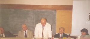 3. Viorel Petrescu, Iacob Catoiu, Aurel Vainer, Alexandru Redes, and Drd. Anca Purcarea