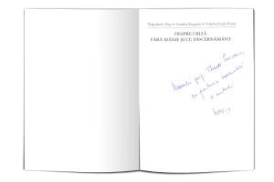 3. Professor Valeriu Ioan Franc, Valuable Author Autograph, 2010