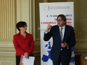 26. Alina BÂRGĂOANU and Guy VERHOFSTADT