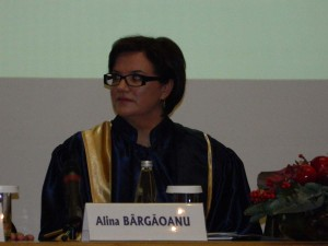 16. Alina BÂRGĂOANU, Rector of NUPSPA (SNSPA)