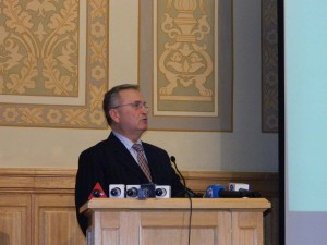 21. Vasile PUŞCAŞ, Babes-Bolyai University, Cluj-Napoca, and Romanian Chief Negotiator with the European Union (2000-2004)