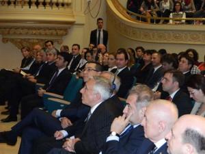 "38. BCU, Aula Magna, on the occasion of ""Lectio Prima"" given by Mihai TĂNĂSESCU"