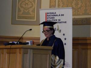 5. Alina BÂRGĂOANU, Rector of NUPSPA (SNSPA), Opening speech
