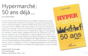 Hypermarché 50 ans déjà, par Claude Sordet
