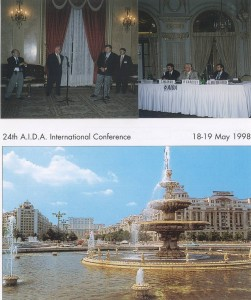 24th AIDA International Conference, May 1998, Bucharest, Romania
