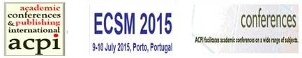 ECSM 2015