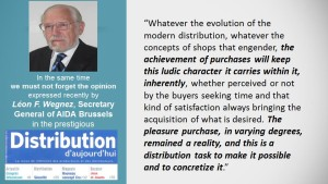 Professor Léon F. WEGNEZ was quoted recently by Theodor PURCAREA at SHOP 2015, Expo Milano 2015