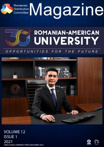 Romanian Distribution Committee Magazine, Volume 12, Issue 1, Year 2021
