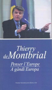 Thierry de Montbrial, Penser l'Europe, 2013 (Book cover)