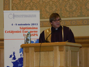 """11.The acceptance speech """"Lectio Prima"""" given by Guy VERHOFSTADT"""