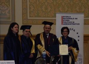 2. Alina BÂRGĂOANU, Mihai TĂNĂSESCU, Iordan BĂRBULESCU, Nicoleta CORBU  (from right to left)