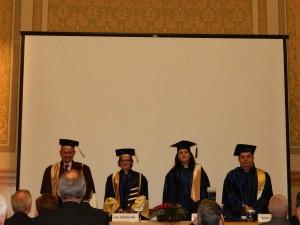 40. Closing of Ceremony, framed by the beautiful music and lyrics of Gaudeamus Igitur
