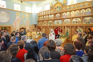 1. Consecration of the painting of the Romanian-American University Chapel, 1